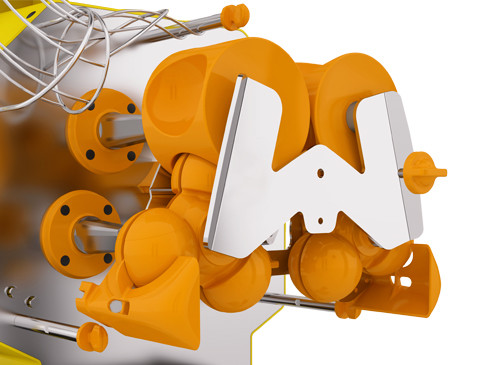 système pressage Zumex pour grandes surfaces